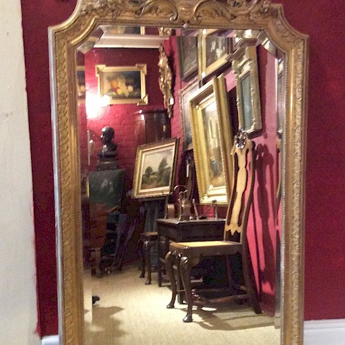 A19th Century French Gilt Mirror 1880
